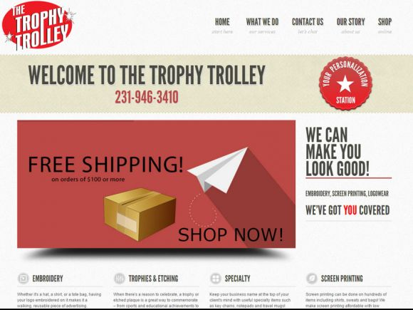 The Trophy Trolley